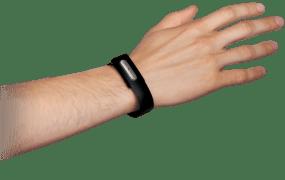 Bionym's Nymi bracelet.