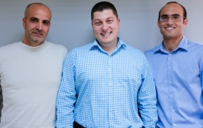 Alon Shemesh (left), Michael Reitblat (middle), Liron Damr (right)