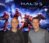 Tim Longo, creative director, and Josh Holmes, executive producer of Halo 5 Guardians.