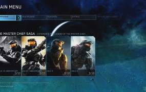 Halo: The Master Chief Collection main menu