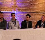 Micah Gantman, TUNE;  John Krystynak, AppLovin; Marc Hale, Twitter/TapCommerce Rob Wilk, Foursquare