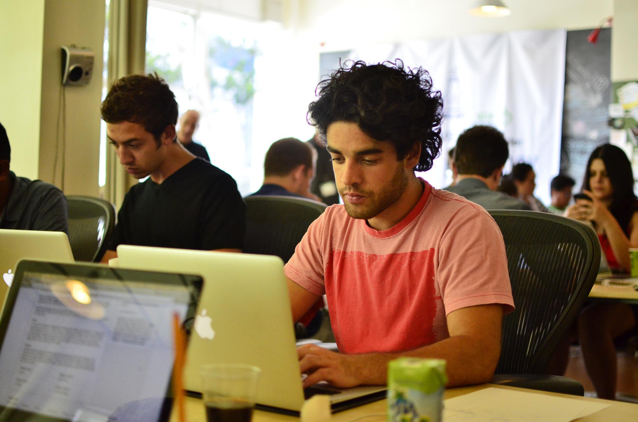 Man laptop startup Philippe Lewicki Flickr