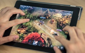 Vainglory is a multiplayer online battle arena game for tablets.