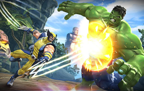 Wolverine and Hulk in Marvel Contest of Champions