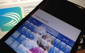 Swiftkey Frozen