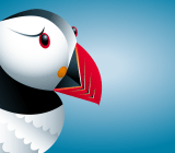 The logo for the Puffin mobile Web browser