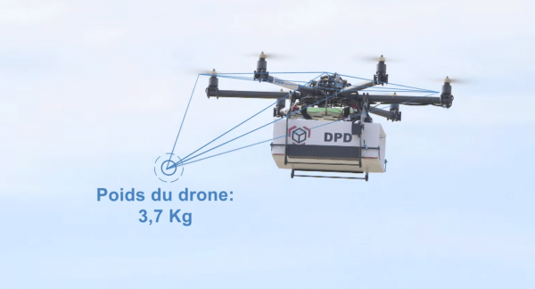 GeoPost delivery drones