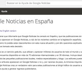 Google News shut down in Spain today.