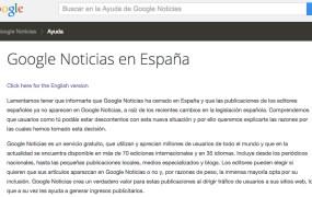 Google News shut down in Spain today.