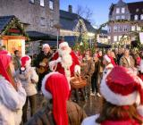 The Aalborg Christmas market, where sensors are being used to track shoppers.