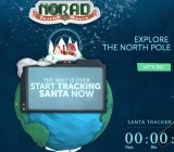 NORAD's Santa Tracker is live.
