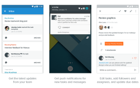 Asana on Android with Material design.