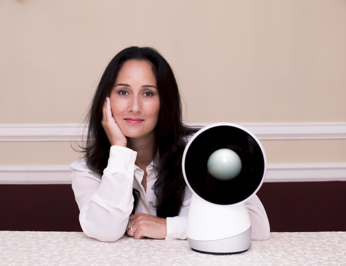 JIBO founder and CEO Cynthia Breazeal