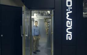 A D-Wave machine at the Quantum AI Lab
