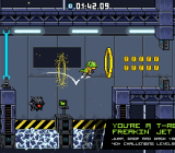JumpJet Rex is a challenging action-platformer, no matter which strategy players utilize.