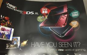 This leaked poster says you should get your hopes up for the New 3DS coming next month.