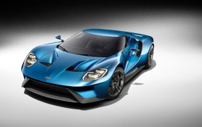 The all-new Ford GT supercar goes into production in 2016