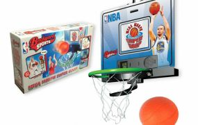 The Mega Morph Super Hoop syncs up with Backyard Sports NBA '15 to encourage kids to be more active.