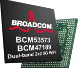 Broadcom's new 5G Wi-Fi chips.