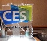 CES 2015 ice sculpture.