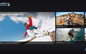 GoPro channel on LG Smart TV platform
