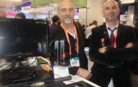 Richard Garriott and Starr Long of Portalarium.