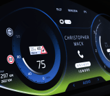 Rightware's Maserati dashboard
