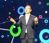 Samsung's B.K. Yoon gave a keynote on the Internet of Things at CES 2015.
