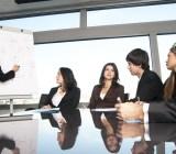 Sales team meeting.