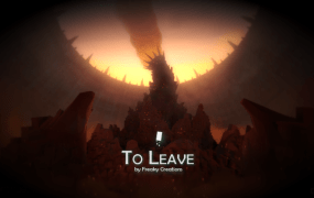 To Leave title screen
