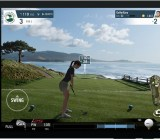 WGT Golf on an Android tablet.