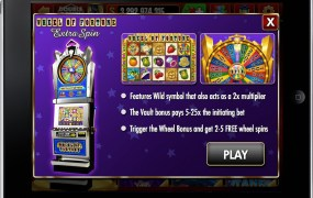DoubleDown Casino's Wheel of Fortune: Extra Spin.