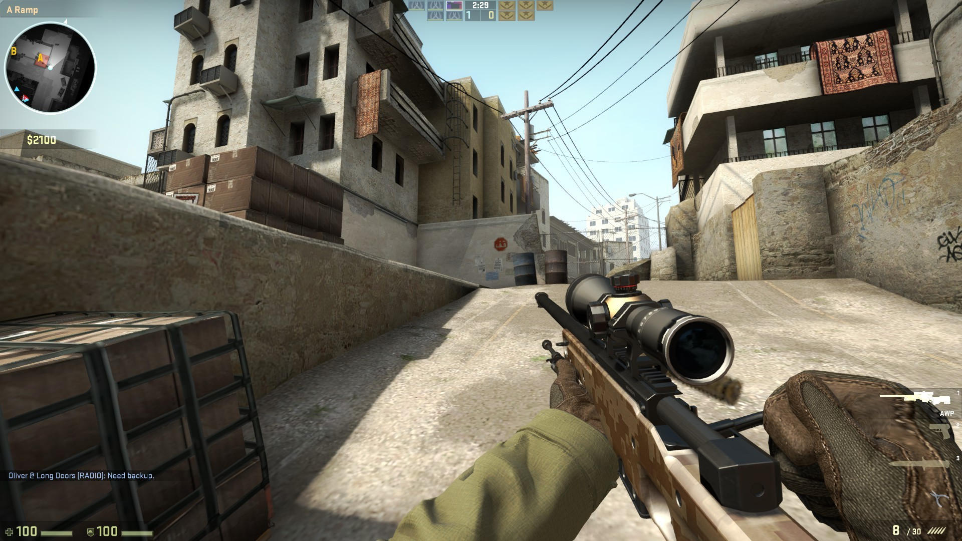 Counter-Strike: Global Offensive is one of the top e-sports games right now, and that's helping it draw an audience on Twitch.