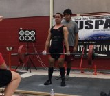 Eric Santos at a US Powerlifting Association meet