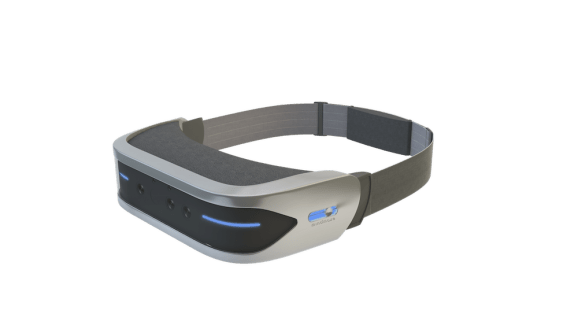 MindLeap's HMD goggles, which allow for controller-free VR gameplay