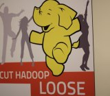 Hadoop sign techmsg Flickr
