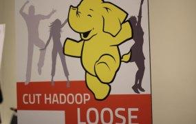 Hadoop sign techmsg Flickr