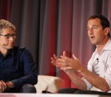 Google vice president of performance media Jason Spero (right) speaking at VentureBeat's Mobile Summit Monday in conversation with VentureBeat founder and CEO Matt Marshall.