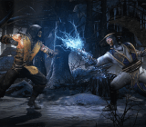 Raiden vs. Scorpion Lightning Hand Snow Forest Mortal Kombat X
