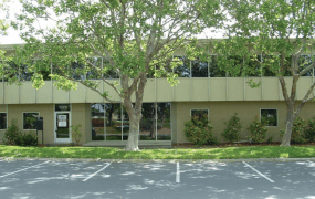 A building in the Silicon Valley industrial park Facebook has acquired.