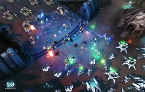 As designed, Supernova might look like an RTS more than a MOBA at times.