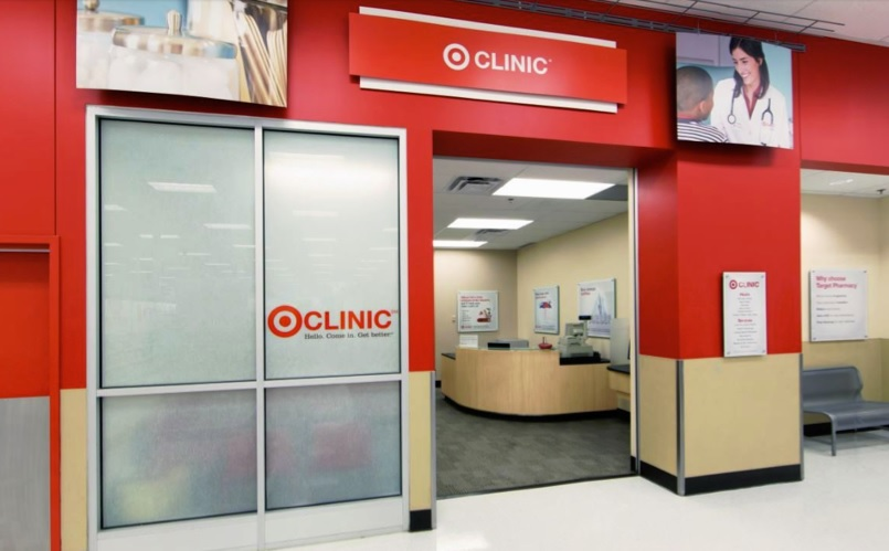 A Target-branded clinic
