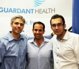 Above: Guardant co-founders Michael Wiley, Helmy Eltoukhy and Amir Ali Talasaz (L-R)