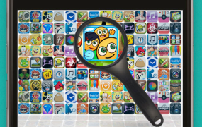 """""""App Store Optimization,"""" as visualized on the Gummicube Web site"""