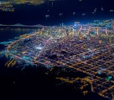 Pulitzer Prize-winning photographer Vincent Laforet recently shot San Francisco at night from just 7,200 feet.