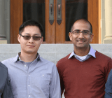 From left, Alation's Venky Ganti, Feng Niu, Satyen Sangani, and Aaron Kalb.