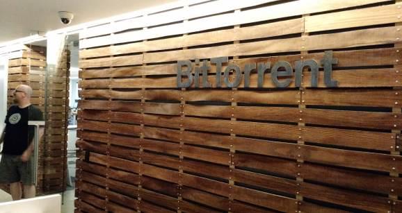 BitTorrent headquarters in San Francisco.