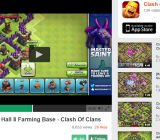 Clash of Clans video on Kamcord's website.