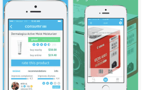 Consumr enables comparison-shopping with online sellers while you're standing in a retail store.