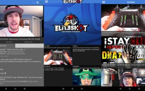 EliteShot HQ in action on Android.